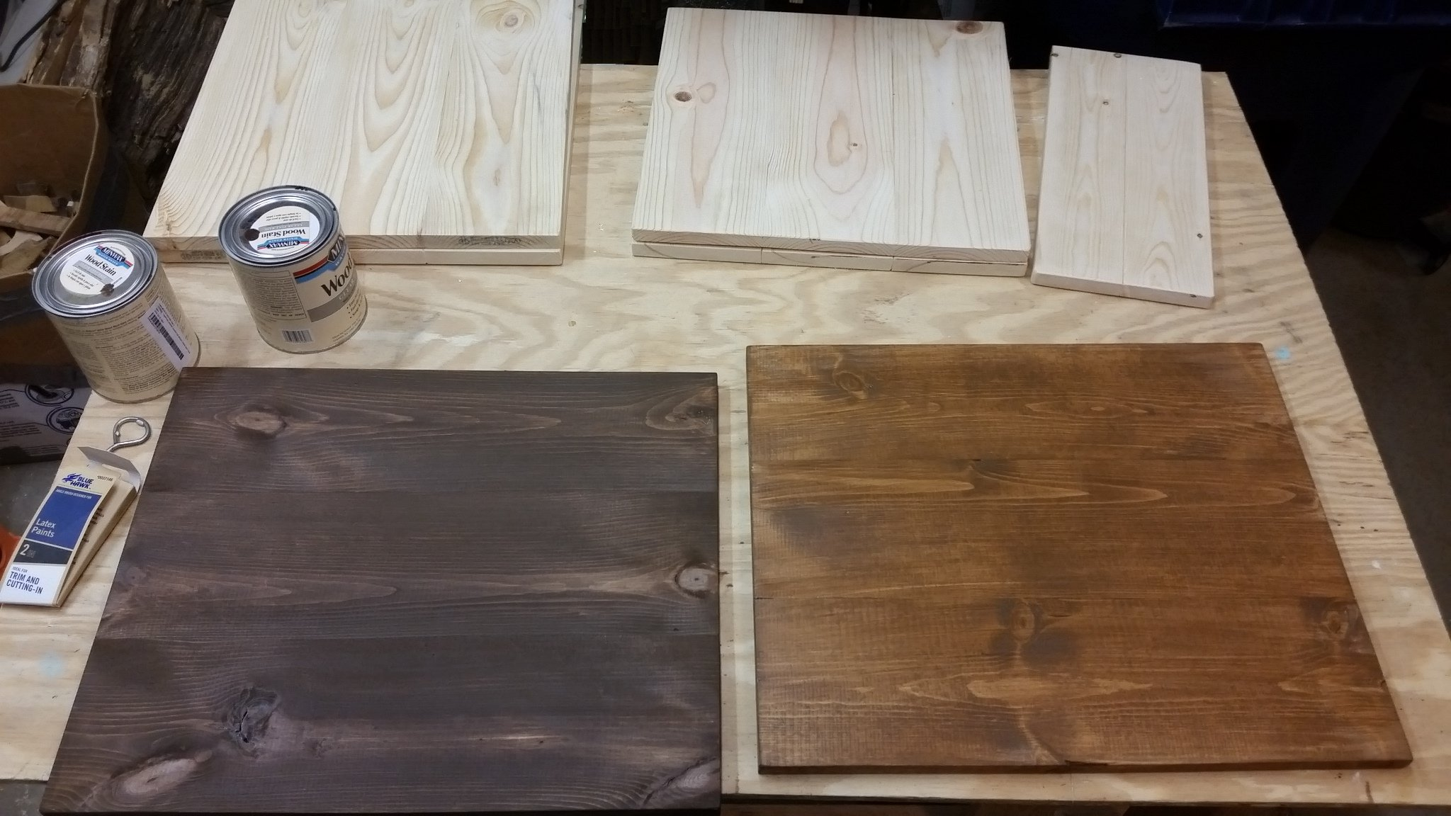 joebcrafts wooden sign blanks stained pine wood