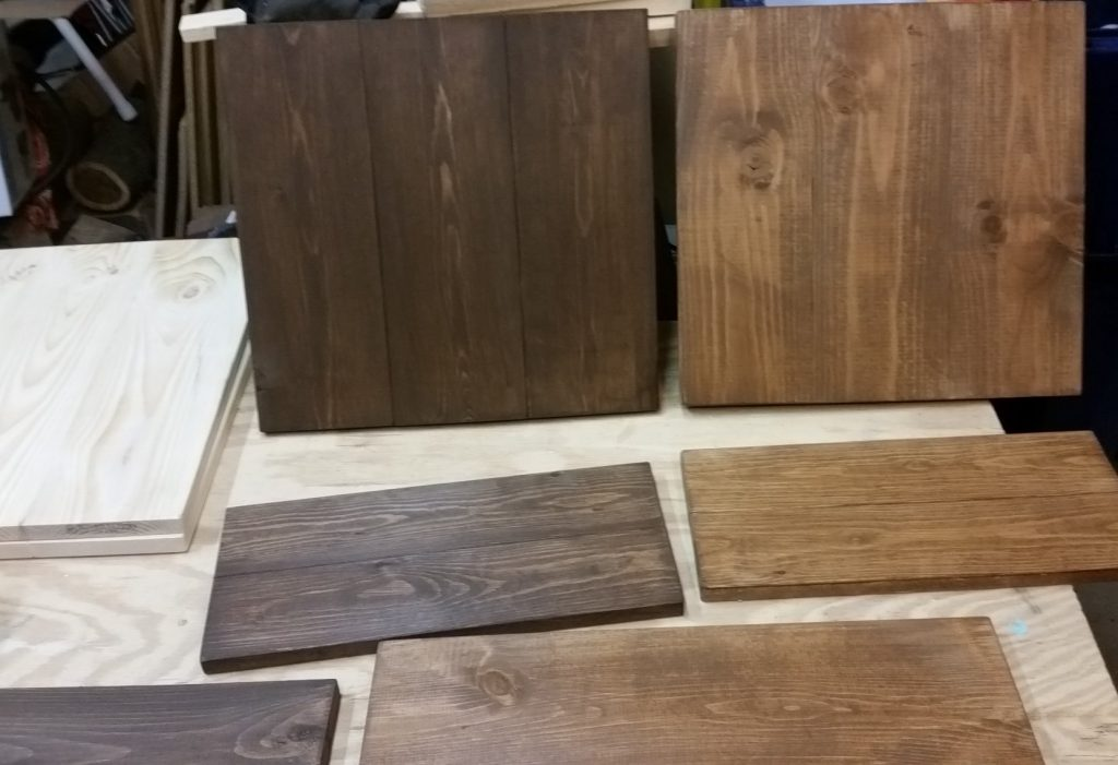 Stained Sign Board Prototypes
