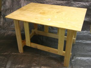 Knock-down Workbench from Plan