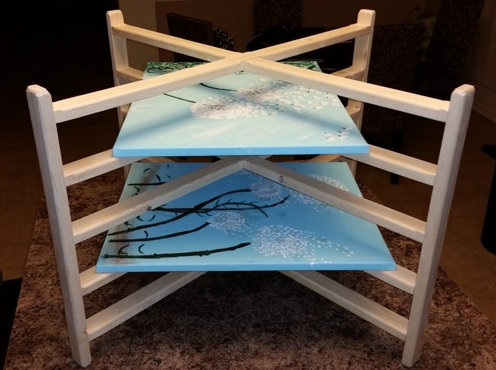 Art Canvas Drying Rack