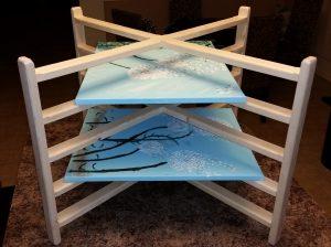 Art Canvas Drying Rack