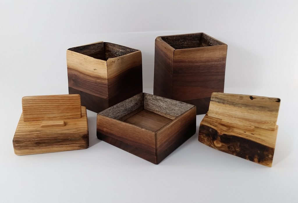 Assorted Wooden Items